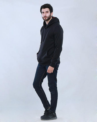 Black hoodie for men
