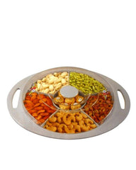 Superior Quality Dry Fruit Tray Italian Large Size