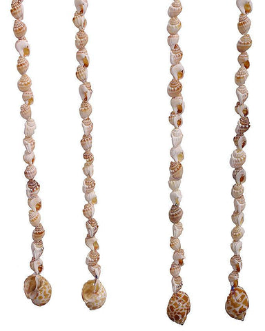 Sea Shell Beads Curtains - White