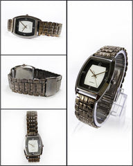 Black Stainless Steel Watch For Men. WS-58