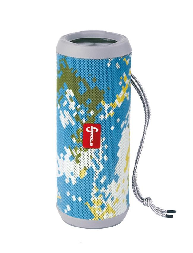 Electrotech X9-Wireless Stereo Bluetooth Portable Speaker-Blue Camo