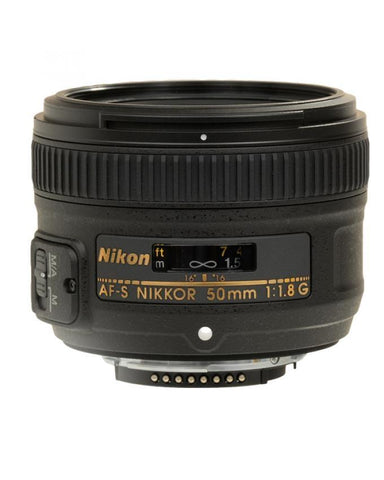 AF NIKKOR - f/1.8G - 50mm - Portrait Lens - Black