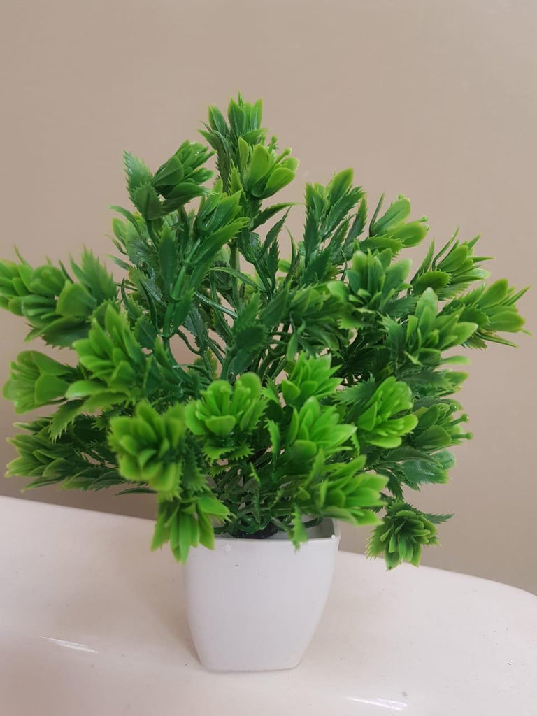 Mini Light Green Tree Artificial Decoration Piece