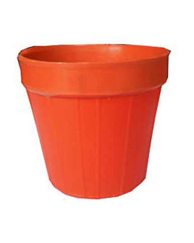 Pack of 24 Small Plastic Flower Pots - 3.2D x 3.5H