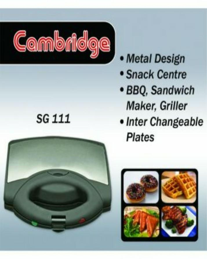 Cambridge Sandwhich Maker With B.B.Q Grill