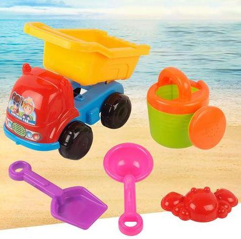 Kids Summer Beach Car Sand Toy Play Tool Set Random Colors