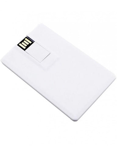 USB Flash Drive Card Shaped - 16GB - White