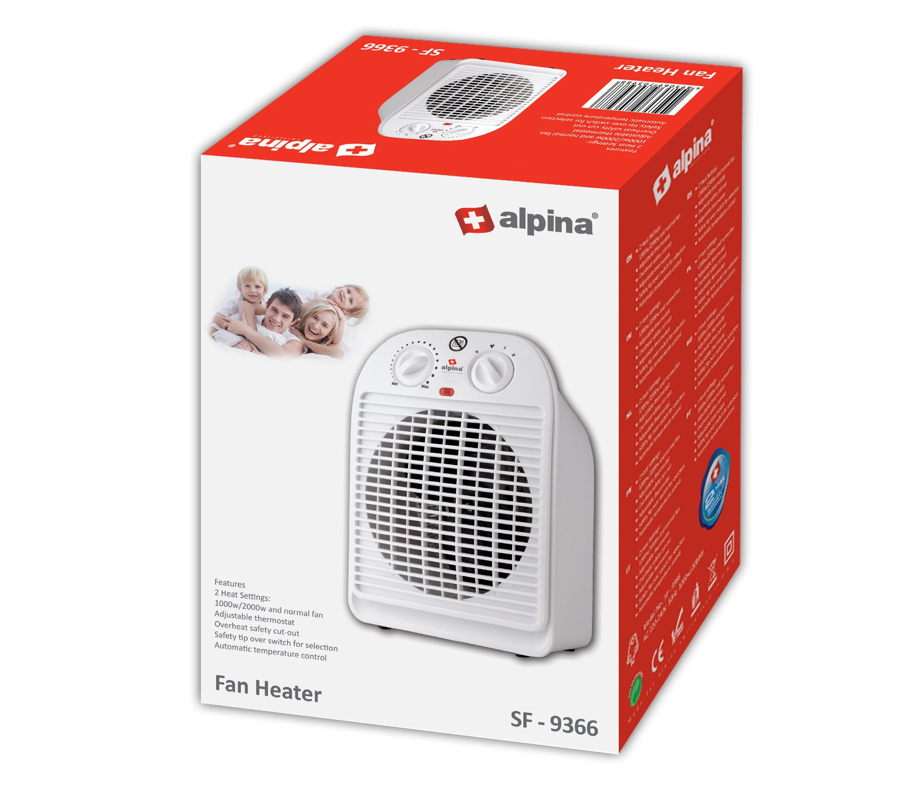 Alpina Fan Heater SF-9366