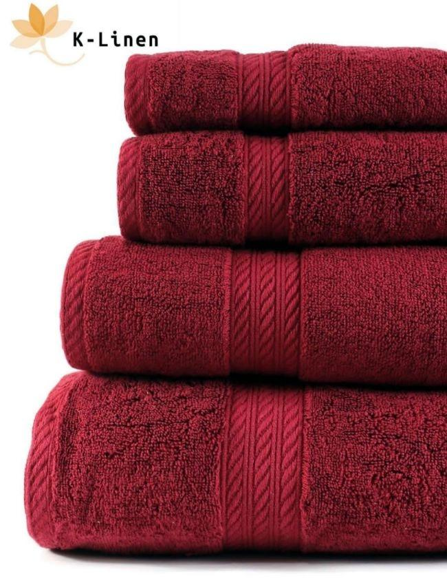 K-Linen Pack Of 4 - Bath And Hand Towels