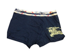 Navy Burberry Men Underwear Boxer - Medium