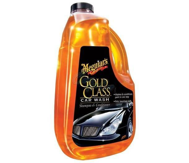 Meguiar's Gold Class™ Car Wash Shampoo & Conditioner