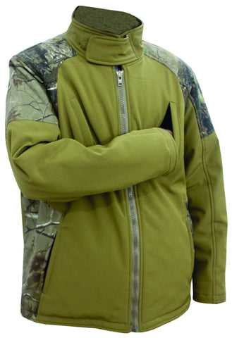 Men's Soft Shell Hunting Winter Jacket MBH-205