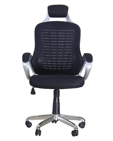 Office Imported Heavy Duty Revolving Home Chair - Black