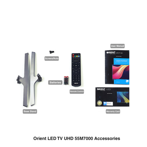 Orient 4K UHD 55 Inch LED Tv - UHD 55M7000