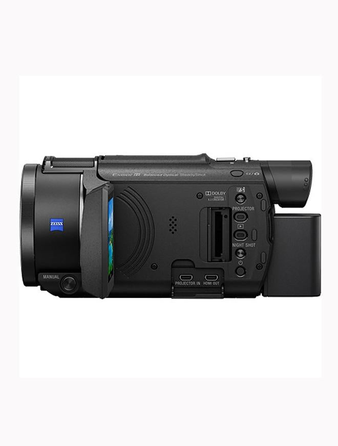 64Gb Fdr-Axp55 4K Handycam With Built-In Projector Black