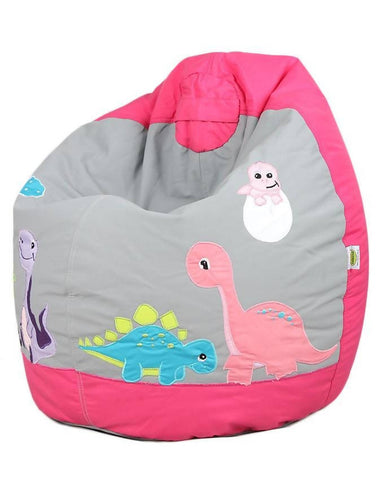 Relaxsit Toddler Bean Bag Embroidered - Pink