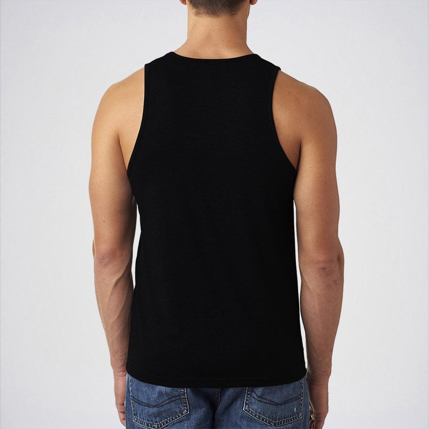 Pack of 3 - Multicolor Cotton Tank Tops For Men - BRM-124