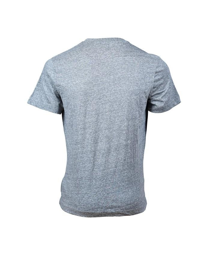 Combed Cotton Cloud Grey Tee V Neck