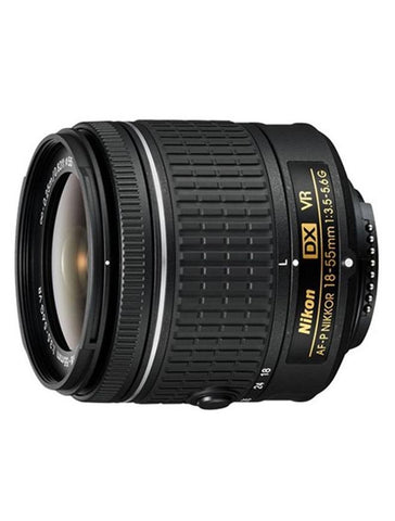 Camera Lens - AF-P DX NIKKOR - 18-55mm f/3.5-5.6G VR - Black