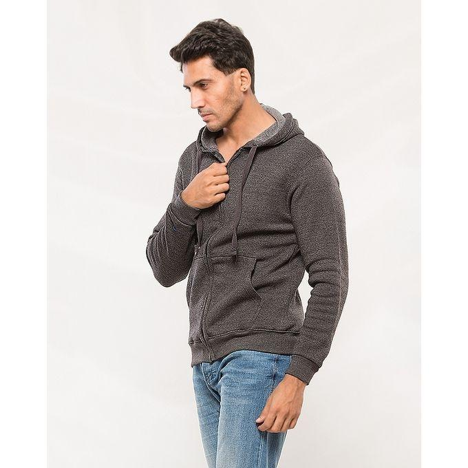 Pack of 2 Couple Charcoal Grey Hoodies. AJM-H251