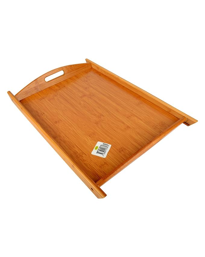 Bamboo Serving Tray with Handles