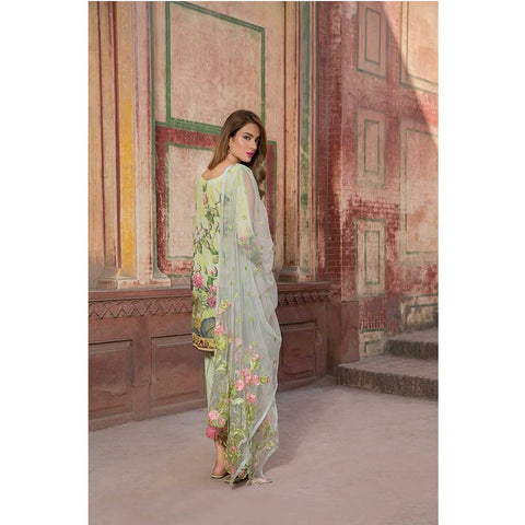 Ferozey Sii Bello Unstitched Lawn Suit - Ethereal Spring D09