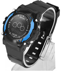 Blue Digital Sports Watches for Men
