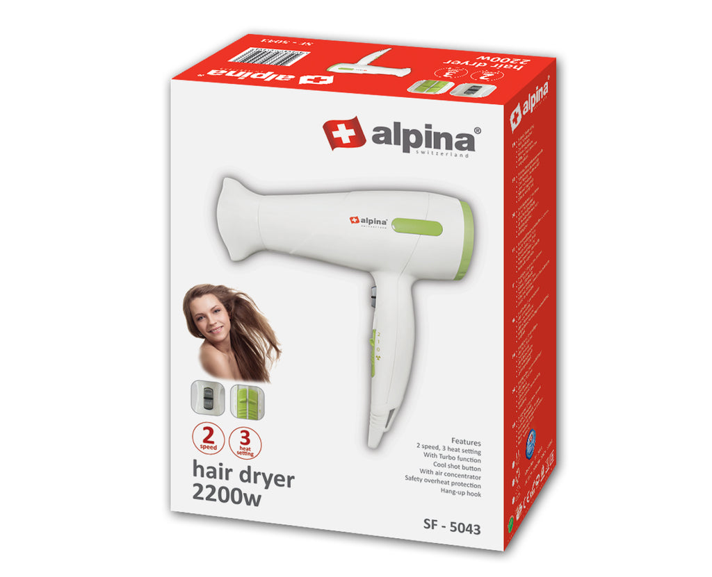 Alpina Professional Hair dryer SF-5043
