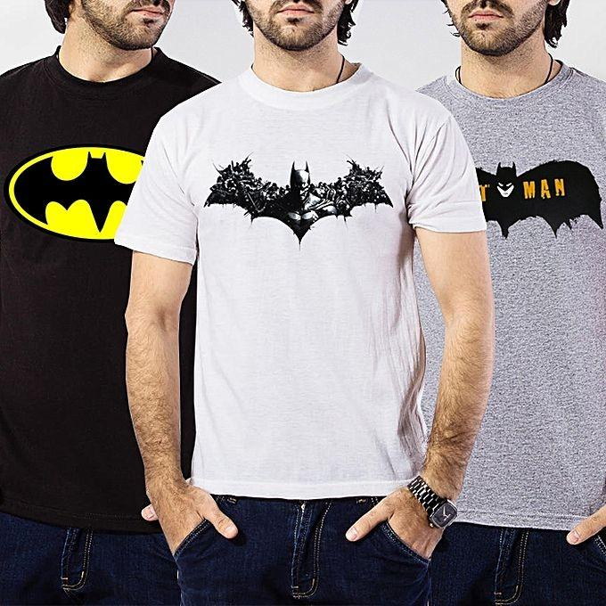 Pack of 3 - Round Neck T-shirt For Men