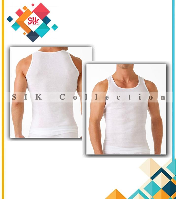 Pack Of 6 - Branded Vest For Men