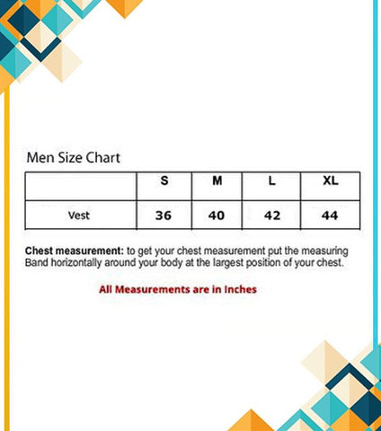 Pack Of 6 - Branded High Quality Packed Vest For Men