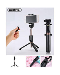 P9 2 In 1 Bluetooth Selfie Stick With Remote Control - White