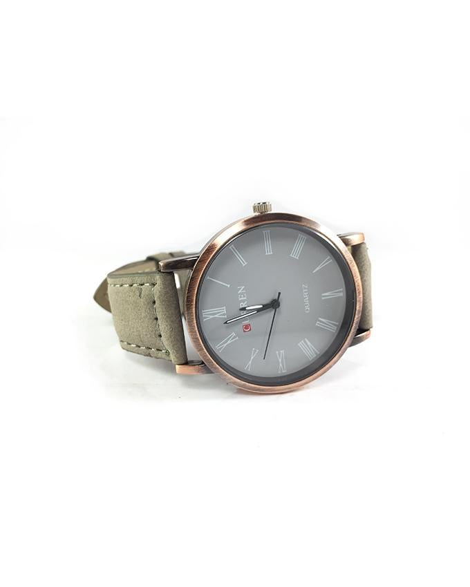 Leather Strap Watch For Men. WS-04