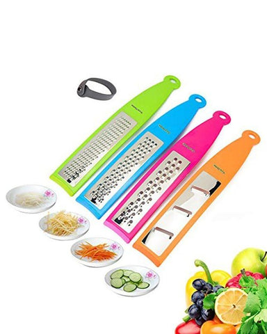 Lajawab Pack Of 6 Vegetable Grater Set