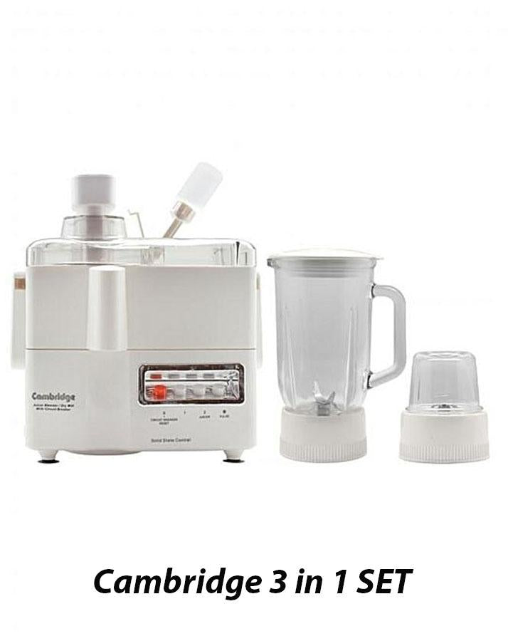 Cambridge 3 in 1 Juicer Blender JB-400
