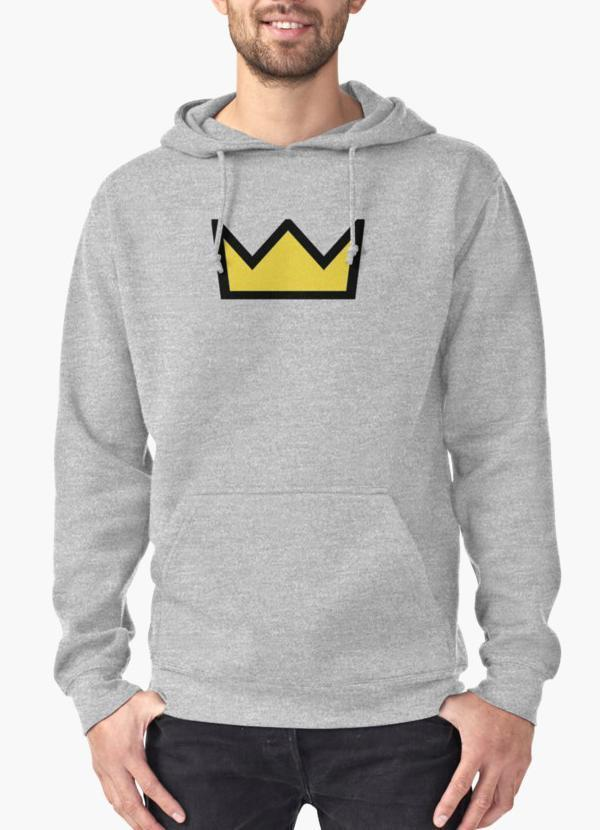 Riverdale - Bughead, Betty Cooper Crown Hoodie Gray