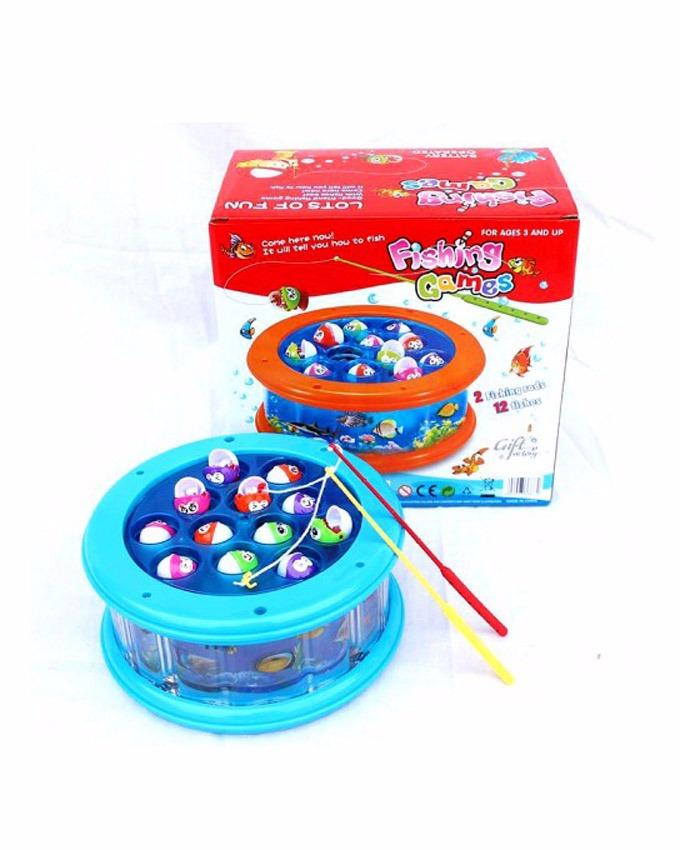 Fishing Game Aquarium With Lights And Sound 685-27