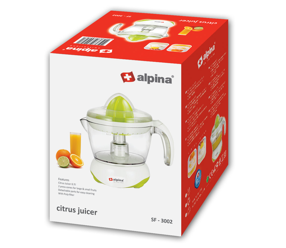 Alpina Citrus Juicer with Bowl SF-3002