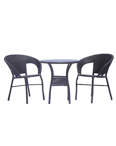 2 Chairs And Centre Table