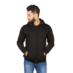 Black Color Hoodie  For Men
