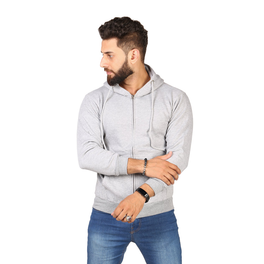 White Color Hoodie  For Men