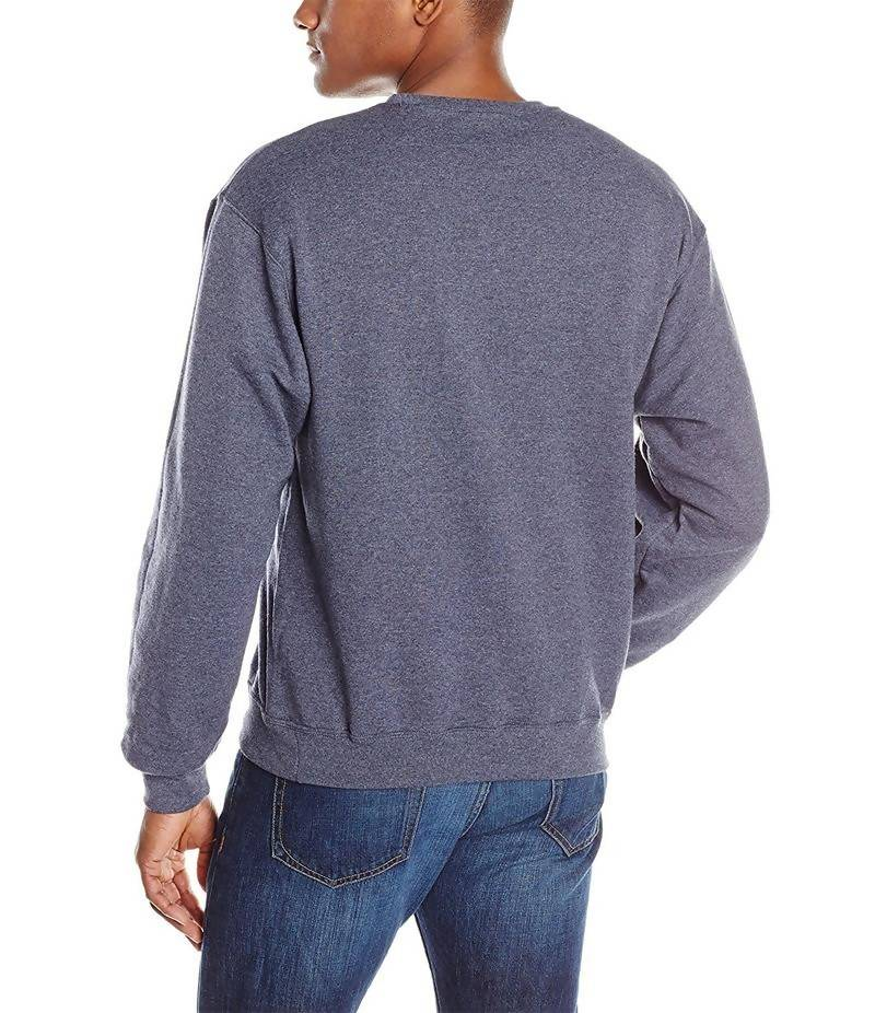 Men's Charcoal Fleece Sweatshirt. ACT-SW6