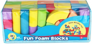 Fun Foam Blocks - Foam Block Toys - Large Foam Blocks - Stationeryx