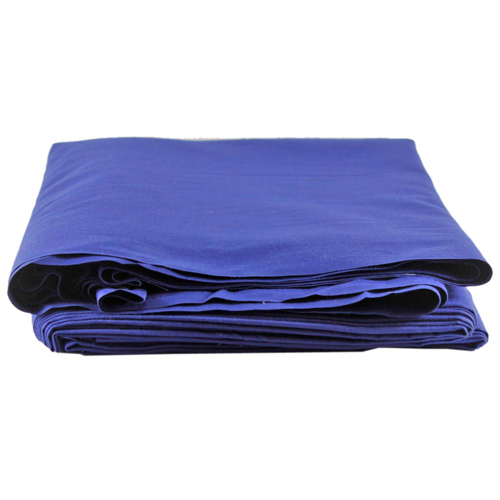 Unstiched Wash & Wear Gents Fabric- Royal Blue - 2.25m