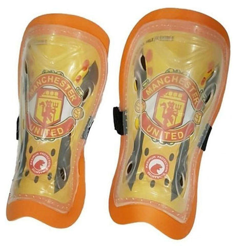 Manchester United Shin Guards - Yellow