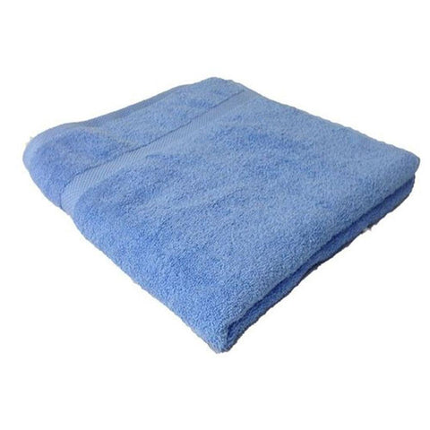 Superior Luxurious King size 70 x 140 Cotton Bath Towels - Blue