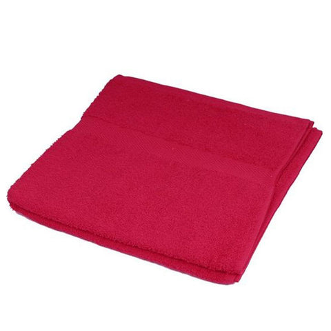 Cotton Bath Towels -60X100 Red