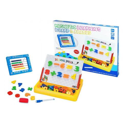 Pack of Magnetic Learning Board & ABACUS
