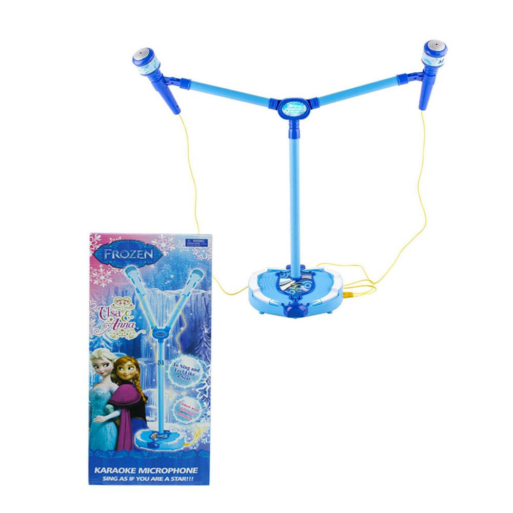 Frozen DUAL Microphone for Kids - BLUE