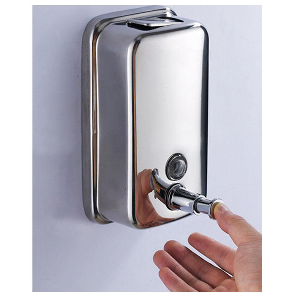 Liquid Soap Dispenser 800ml steel